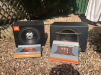 2x subwoofer and amps