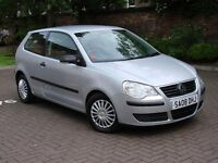 EXCELLENT CAR!!! 2008 VOLKSWAGEN POLO 1.2 E 3dr, ONLY 69000 MILES, LONG MOT, WARRANTY