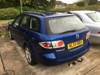 2004 MAZDA MAZDA6 2.0 TS2 ESTATE 5DR BLUE