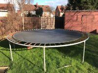 Huge 12 ft trampoline. Priced to sell. Need gone ASAP