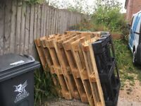 Used pallets for FREE - all in good condition and able to re-use