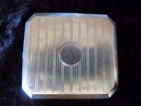 Art Deco Silver Cigarette Case