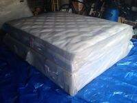 BRAND NEW KINGSIZE MATTRESS AND DIVAN BY SLEEPZONE.