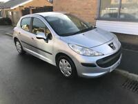 2007 07 PEUGEOT 207 S 1.4 HDI 30POUND TAX YEAR CD PLAYER LONG MOT IDEAL FIRST CAR CHEAP 2 Insure