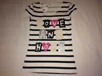 NEW H&M GENUINE KIDS 11-12 YEARS GIRLS UNIQUE SOLDOUT TSHIRT ONLY £10.00 100sales