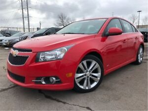 2014 Chevrolet Cruze 2LT RS PACKAGE LEATHER HEATED FRONT SEATS