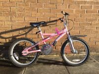 "18"" Pink Child's Bike"