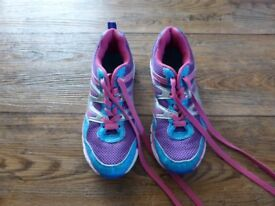 Lovely purple/pink/blue trainers - size 2