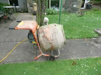 Belle electric cement mixer