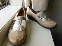 Naturalizer Women's Glamor Wedge Shoes Size 8WW