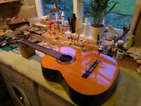Vintage 1070`s Concorde Classical Electro Acoustic Guitar