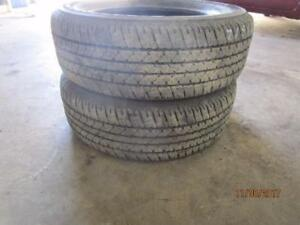 255/65R17 2 ONLY USED MICHELIN  ALL SEASON TIRES