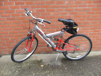 Gents mountain bike with full suspension