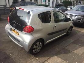 Toyota AYGO 1.0 litre cheap £20 road tax per year