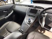 PCO Uber Ready Toyota Prius with Leather interior for rent / hire