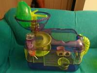 Small hamster, Gerbil Cage with loads of extras!