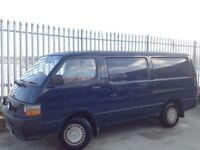 TOYOTA HIACE PANEL VAN 2.5 DIESEL LONG WHEEL BASE (LWB) MANUAL BLUE