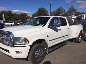 2014 Ram 3500 4WD Longhorn Limited DOUBLE RO