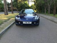 Mazda RX-8 for sale, MOT, very low mileage, service history, perfect condition, drives perfect.
