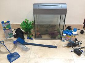 Fish tank Tetra and accessories ( no fish)