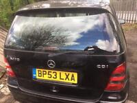 Mercedes A170 cdi breaking