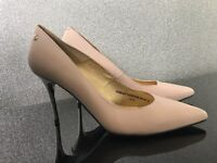 LADIES RED OR DEAD NUDE HEELS EXCELLENT CONDITION SIZE 8 WORN FOR HALF HOUR