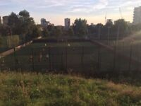 Play 5 a side and 8 a side friendly football games regularly in Mile End throughout the week