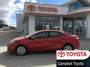2014 Toyota Corolla S LOCAL TRADE--1 PRICE--NO HASSLE BUYING