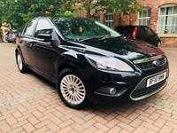 Ford Focus Titanium 1.6 Petrol 2010- 11 Months MOT, Heated Seats, cruise control top spec