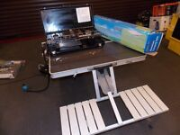 4 SEAT CAMPING TABLE AND DOUBLE BURNER