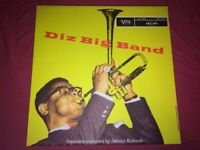 Dizzy Gillespie Stretched Canvas Music Wall Art Deco Diz Big Band 16x16 inch
