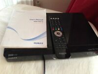 HUMAX T2 FREEVIEW + RECORDER 500 GB