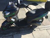 keeway cityblade 125 twist n go scooter 4 months old 500miles