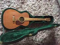 Martin 0015 solid mahogany guitar with vtc pickup.