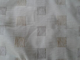 Heavy Weight Curtains Lined and Beige Neutral Colour - Ideal for Winter Warmth