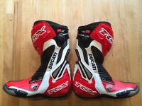 DUCATI Corse Motorcycle Boots **AS NEW ** size 41