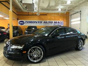 2013 Audi A7 3.0T+S LINE PKG+PREMIUM PLUS+NAVIGATION+CAMERA+NO