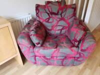 Recliner chair dfs