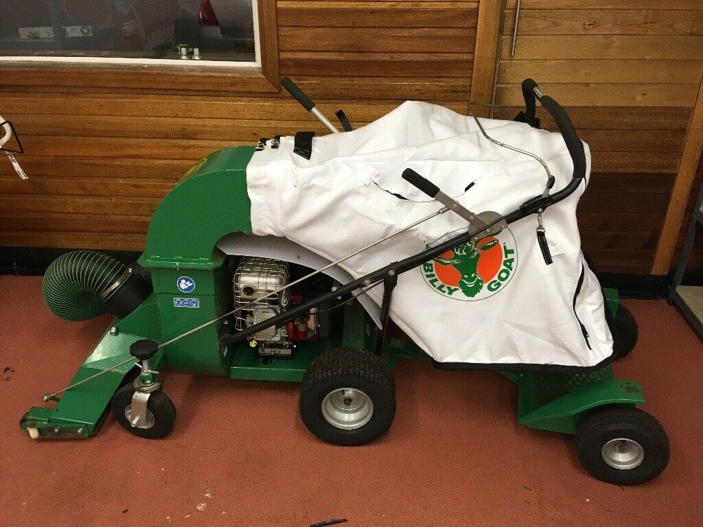 Broom Ex sweeper/Billy Goat vacuum