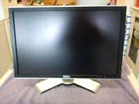 DELL 2007WFP 20in WIDESCREEN LCD MONITOR