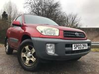 Toyota RAV4 Full Years Mot Low Mileage Great Condition Cheap Car !!!