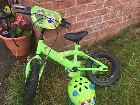 Green Monster Bike!! Fantastic condition, Perfect starters Bike!