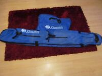 KEENNETS FISHING ROD HOLDALL AND NET BAG GOOD CLEAN CONDITION