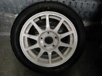 Advan Yokohama AO48 Tyres and Uk Honda Integra Civic Type R wheels DC2 EK9 EP3 DC5 FN2 B18c B16 K20