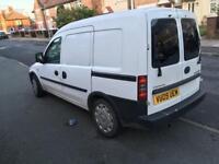 2009 Vauxhall combo crewcab van