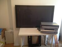 1 pioneer home cinema system and a Panasonic tv both 50 inch and perfect condition for sale