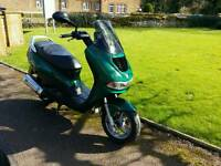 Peugeot elyseo 125cc 12 months mot 1 owner from new all history 2xkey ready to ride