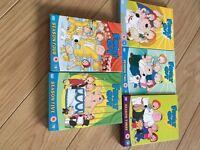 Family Guy DVDS Seasons 1-5