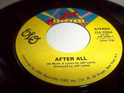 ELECTRIC LIGHT ORCHESTRA-HOLD ON TIGHT/WHEN TIME STOOD STILL JET 02408 NM 45