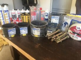 Job lot of different bits for builders!!!